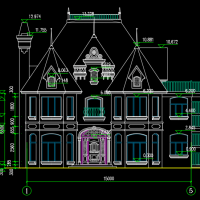 某地两层木结构别墅全套施工图