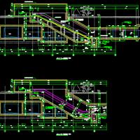 地铁出入口设计详图