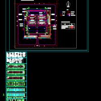 某地三层框架结构毛毯厂丙类厂房建筑设计图