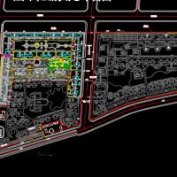 恒大绿洲某项目示范区总平面规划图