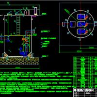四套一体化泵站设计图纸