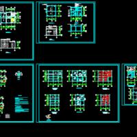 垃圾中转站建筑及结构设计图(带办公室)
