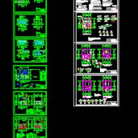 垃圾压缩中转站建筑结构电气水工艺全套设计图