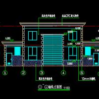 带公厕垃圾中转站建筑设计图纸