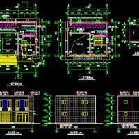 带厕所垃圾转运站建筑设计图