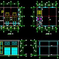 箱体式垃圾转运站建筑设计方案图