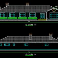 28.3X10.4一层农村自建房结构及建筑设计图纸