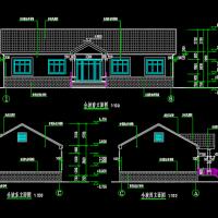 20X9一层农村自建房建筑设计图纸