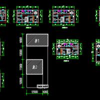 16X9一层农村自建房平面方案图