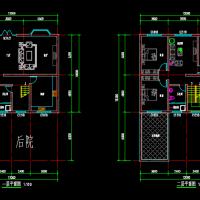 12X16.3两层农村自建方案图(带后院)