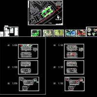 广州某地消防站给排水设计图纸