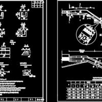 高速公路路面排水设计施工图(含排水沟、急流槽、集水井)