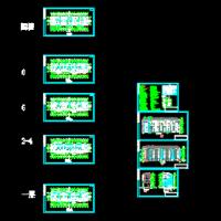 六层砖混结构住宅楼毕业设计(含计算书)