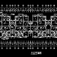 2358平米六层砖混结构住宅楼毕业设计(含图纸、计算书、施组、工程量计算)