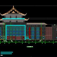 江西某地大剧院建筑及结构设计图纸