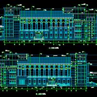 某大型影剧院建筑施工图纸