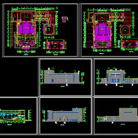 四层影剧院建筑设计方案施工图纸