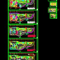 商业电影院影厅建筑设计施工图