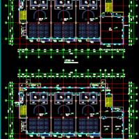 山东青岛4层9班幼儿园建筑设计图纸