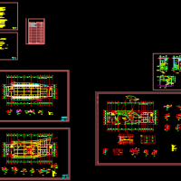 电视台节目录影棚改造全套设计图纸(全专业)