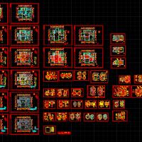 17.7X13.5整套欧式别墅设计装修图