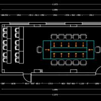 小型会议室装修设计施工图