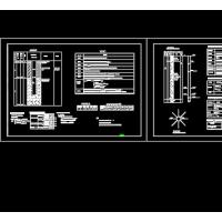 大口井设计图、辐射井及井房设计图