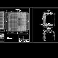100立方米矩形蓄水池设计图