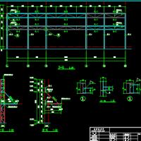 多层钢结构售楼部结构设计图纸