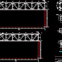 钢结构管廊支架设计图纸