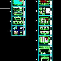 钢结构菜市场管桁架施工设计图