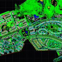 碧桂园小区规划与户型平面