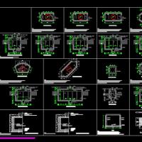 电力电缆井设计与安装07SD101-8CAD版(大样图)
