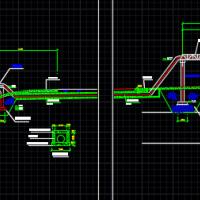 浮船取水泵站设计图(全套)