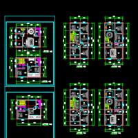 7.5X15两层农村自建房平面方案图
