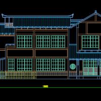 18.6X14.4两层日本风格别墅设计图
