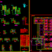 2.5万主原油罐区消防系统图(泡沫灭火含有说明)