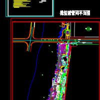 河道排盐碱管道设计施工图