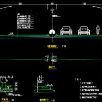 某道路工程量清单计价实例编制(含CAD图及工程量计算)