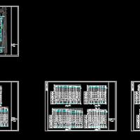 某地住宅小区雨水管道CAD设计图纸