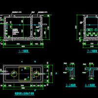 小型化粪池详图CAD版
