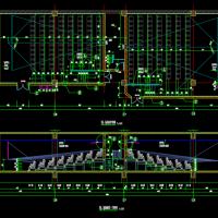 某电影院建筑设计施工图纸(五个厅,详图全)