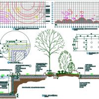 游泳池景观设计CAD图块