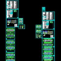 山东某地两套多层住宅给排水设计图