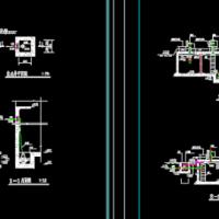 150清水池工艺图及泵房图