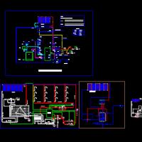 多套太阳能热水系统设计施工图