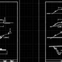 路基标准横断面图设计图纸