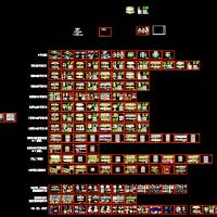 高速公路护栏设计标准通用图191张(详细全面)