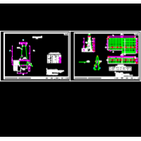 SB级路侧混凝土护栏通用图(防撞栏板)