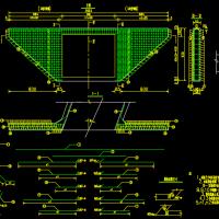 河南某高速公路箱涵立交桥设计图